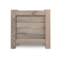 Square Wooden Planter - 40cm   25% OFF SALE